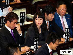 衆院代表質問での選択的夫婦別姓ヤジ、自民の杉田氏か
